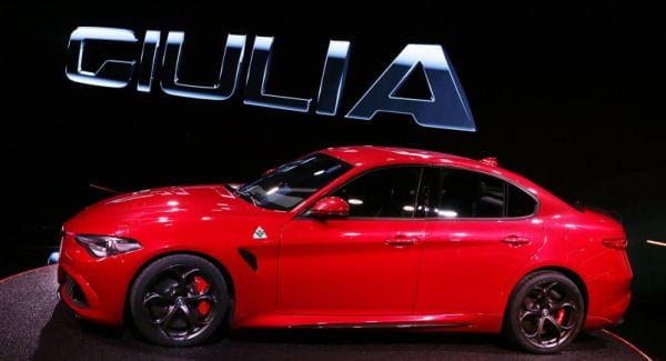 new 2016 Alfa Romeo Giulia