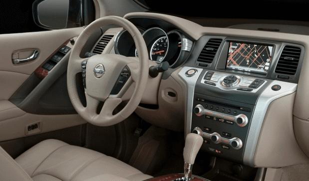 new Nissan Maxima interior
