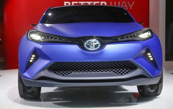 new Toyota CH-R concept